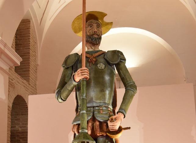 Retiro del Maestre: Quijote de mazapán