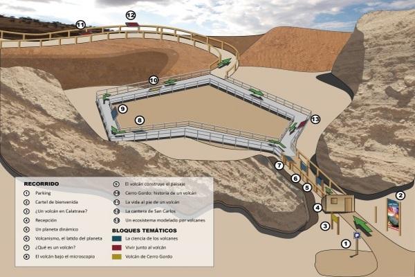 Mapa Cerro Gordo