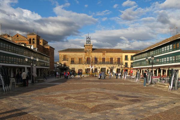 La Plaza Mayor de Almagro